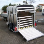 HLV Remorques - Betaillere Ifor Williams P8G a