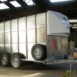 HLV Remorques - Betailleres Ifor Williams TA510G